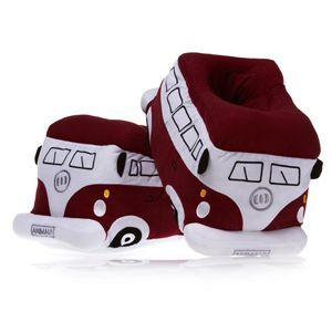 Animal Camper Vans Slippers - Tawny Port