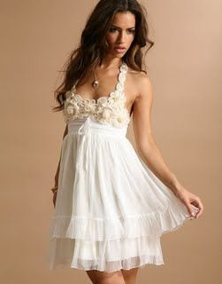 love it.: Fashion Style, Dream Closet, Wedding, Outfit, Style Dresses, Prettiest Dress, Beautiful Dresses, Casual Dresses, Halter Dresses