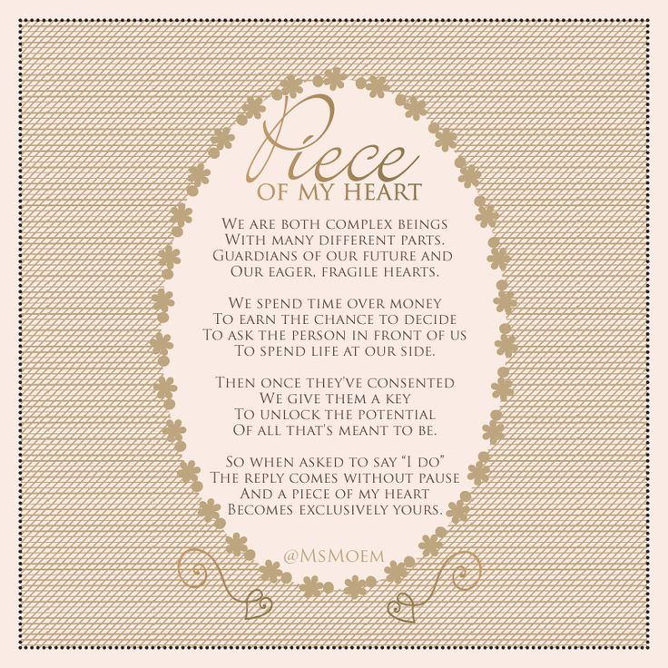 60 Best Wedding - Poems Images On Pinterest