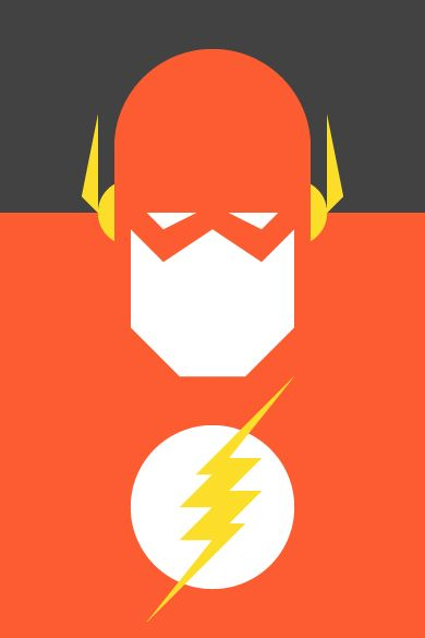 Pop Culture Icons  Form & Co - Flash Re-Vision is an exercise in style and synthesis of different cultural icons. It is a series of portraits of the most representative of the world of comics, movies, television, sports and music. Here it is Super Heroes