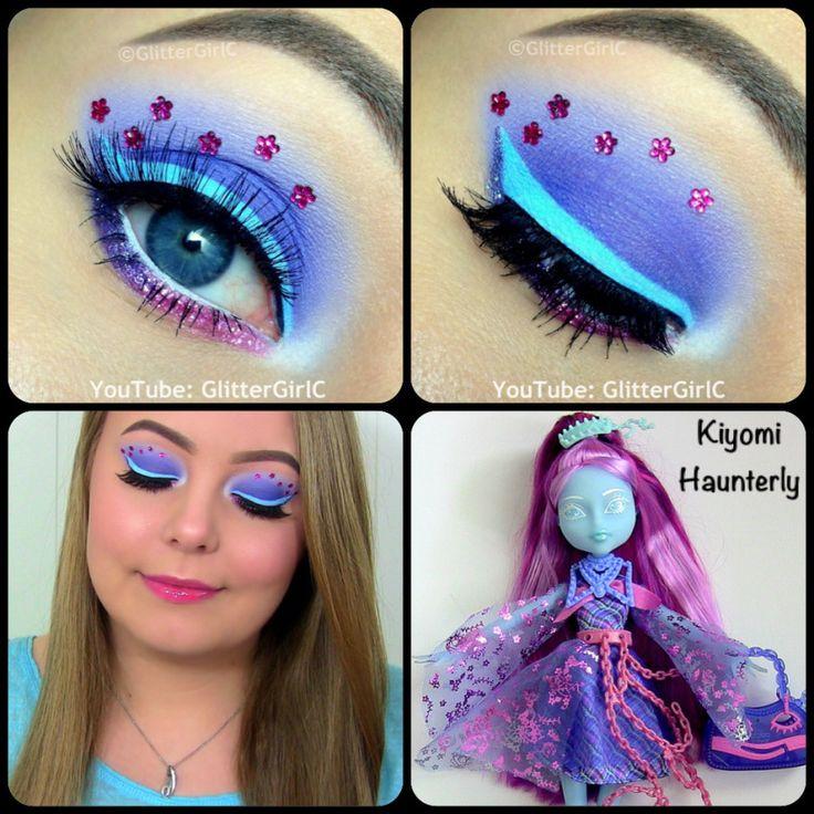 Monster High Kiyomi Haunterly Makeup Costume Eye Makeup