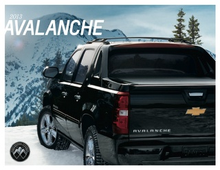 2013 Chevy Avalanche Brochure Download #Chevrolet #Avanlanche #Brochure