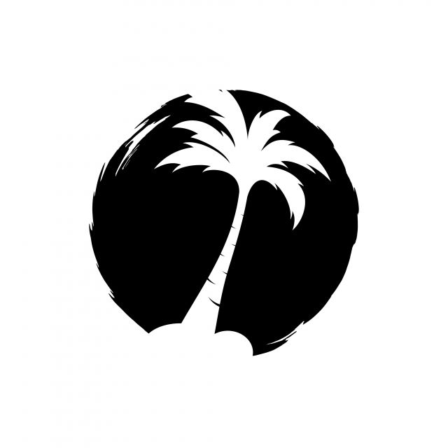 Palm Coconut Tree Logo Icon Logo Icons Tree Icons Palm Icons Png And Vector With Transparent Background For Free Download Tree Icon Coconut Vector Tree Logos
