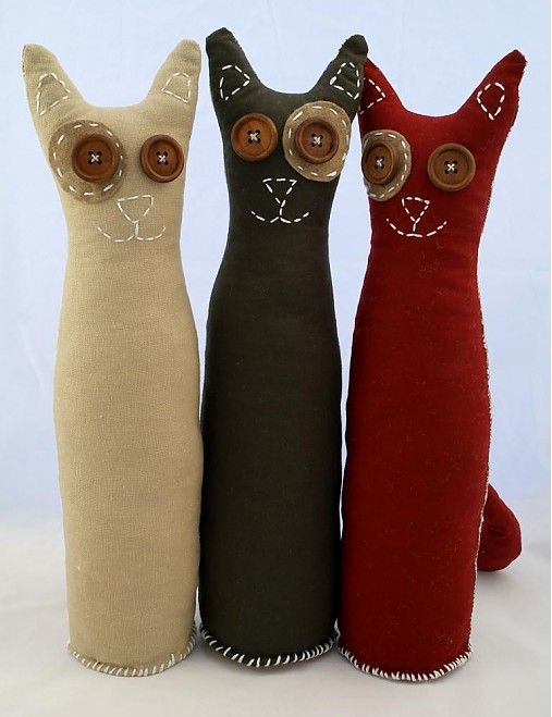 Handmade toys.