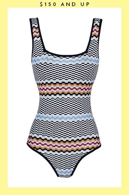 There's a time and place for knits — it's every time and every place. #refinery29 http://www.refinery29.com/2015/08/91653/swimsuits-on-sale#slide-21
