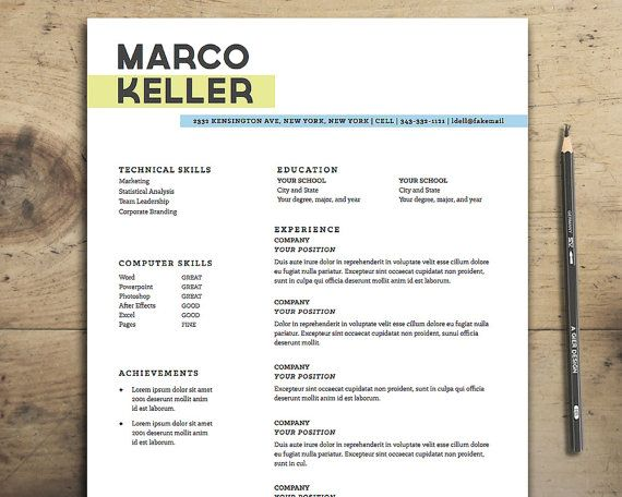 42 best Our Resume Templates images on Pinterest Resume - resume templates for beginners
