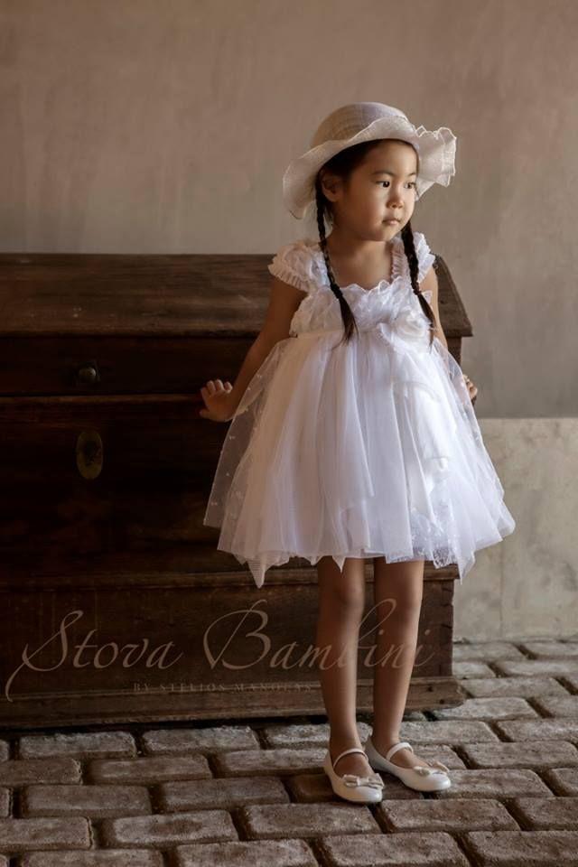Βαπτιστικό Φόρεμα Βάπτισης Stova Bambini Diamond (G6.15)
