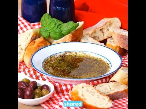 This Olive Oil and Balsamic Bread Dip Proves that Simple Pleasures are the Best - Shared