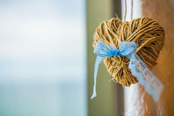 Porta alianças lindo e um something blue! Casamentos Reais | Rafaella + Geraldo