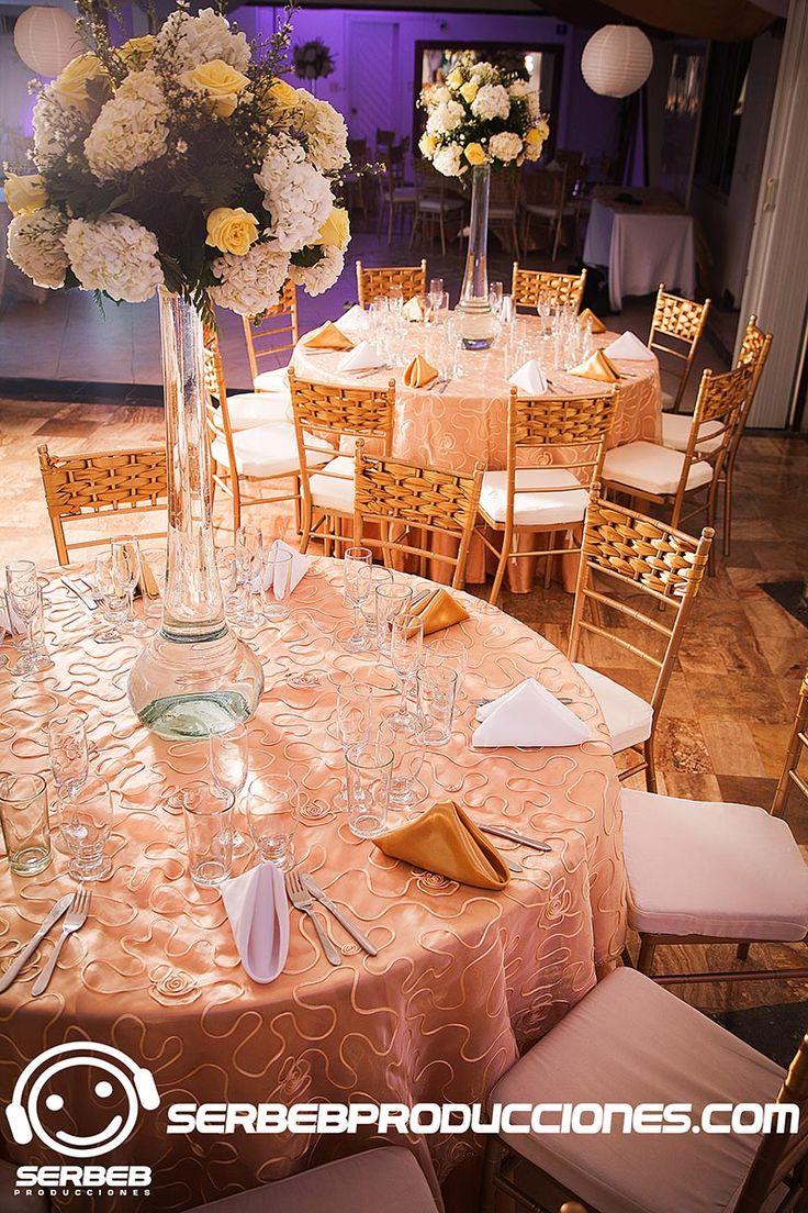 Boda hortensias y rosas amarillas decoraci n bodas cali - Decoracion con hortensias ...