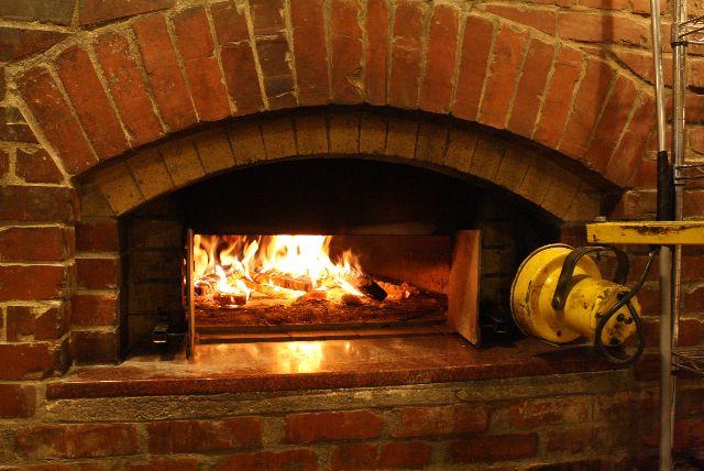 wood burning brick oven plans