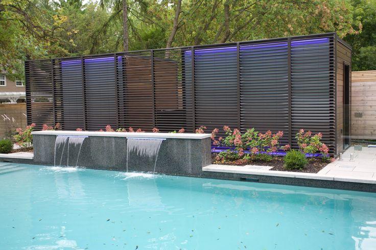 #pooldesign #water #waterfeature #waterfall
