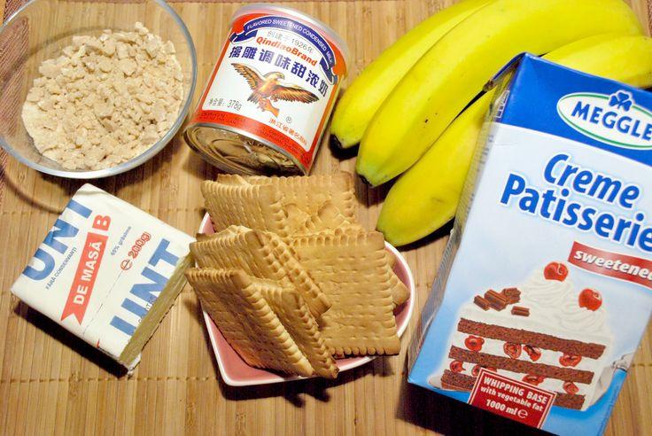 Diamond Cuisine!: Banoffee- prajitura cu banane si caramel