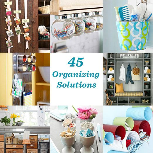 An Easy Diy For A Boring Apartment: Easy Organizing Solutions For Every Room
