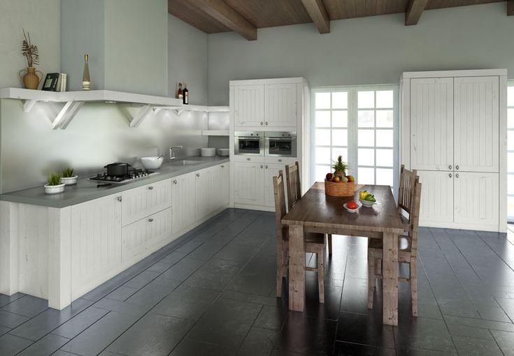 Keuken Hout Wit : houten keuken kookeiland 4 long island kitchens houten keuken
