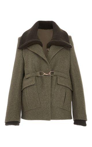 Fenton Wool Coat  by GABRIELA HEARST for Preorder on Moda Operandi