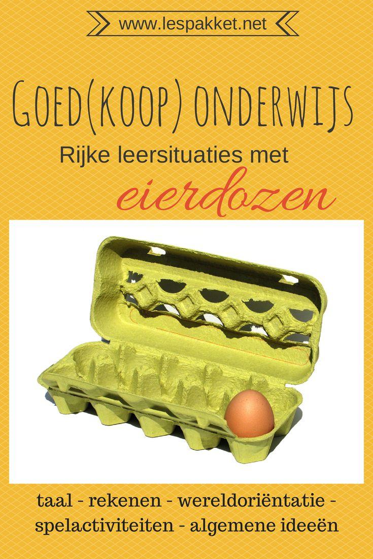 Goed(koop) onderwijs: eierdozen - Lespakket - thema's, lesideeën en informatie - onderwijs aan kleuters