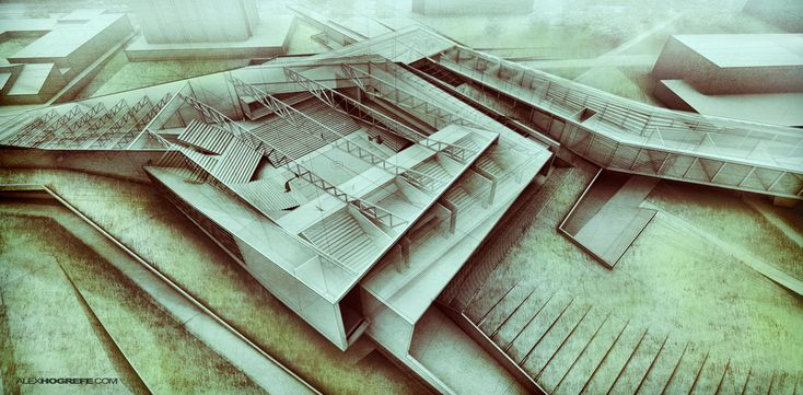Site Gallery - architectural rendering and illustration blog - http://www.alexhogrefe.com/site-gallery/