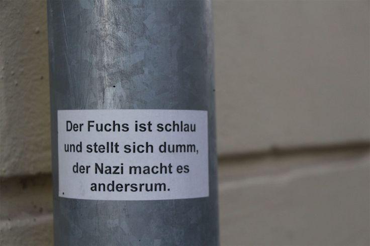 Guten Rutsch ins Wahljahr 2017! Und immer dran denken... (gesehen in der Eichenstraße) Foto: Eimsbütteler Nachrichten