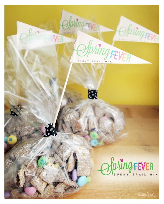 Spring Fever Bunny Trail Mix