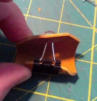 Pen clip holder