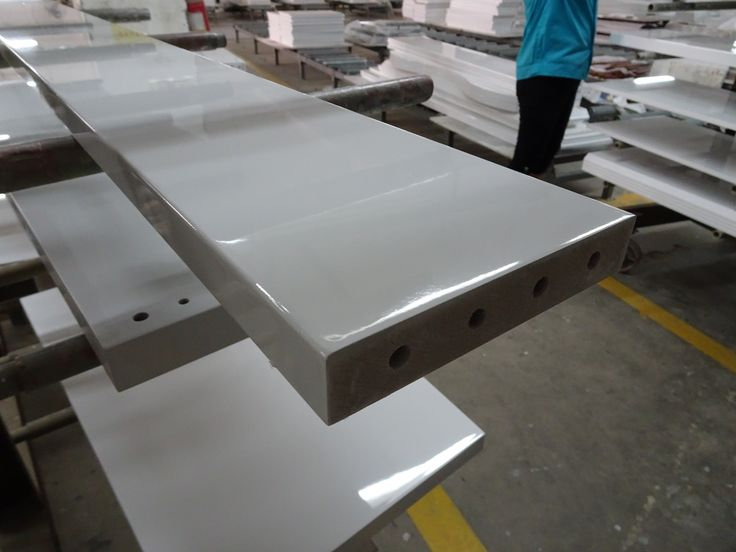 High Gloss Furniture production.
