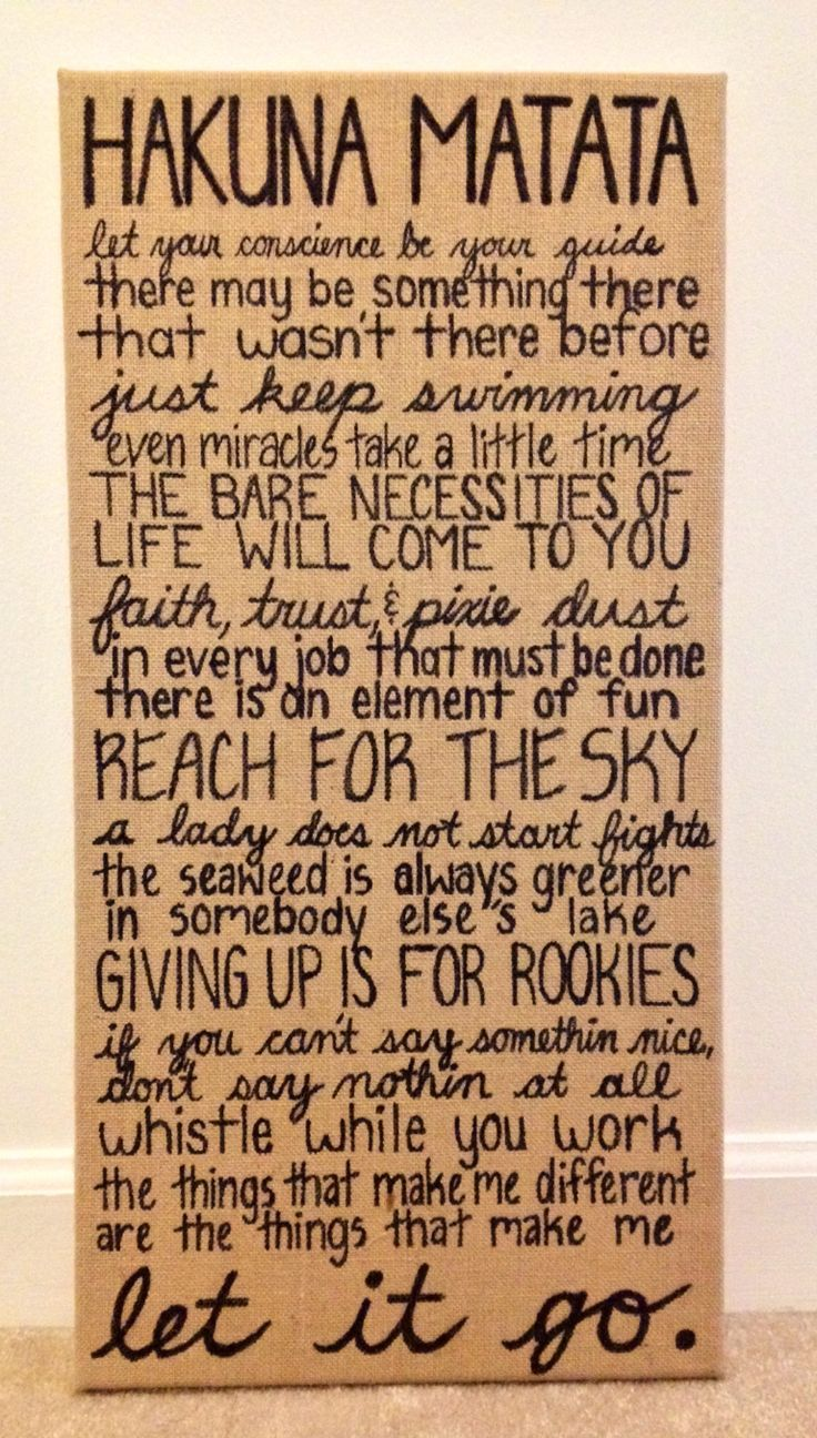 A very sweet, inspirational quote on a peice of canvas!! How sweet! ❤️❤️❤️