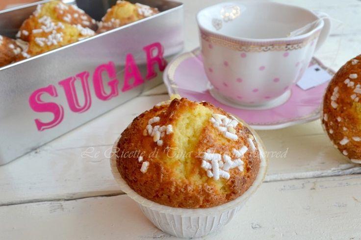 Muffin all'arancia,dolcetti soffici e profumati per colazione o merenda
