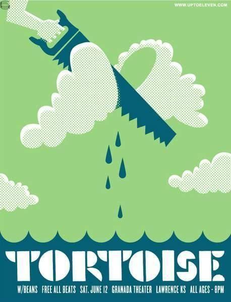 old Tortoise flyer by THINKMULE
