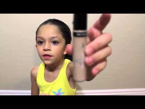 bella makeup tut *new video* 8 year old makeup pro - YouTube
