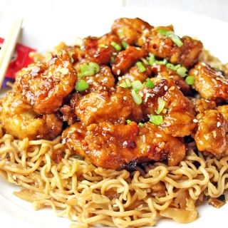 Panda Express Orange Chicken with tender chicken thighs fried crisp and tossed in a magical perfect-copycat sauce!