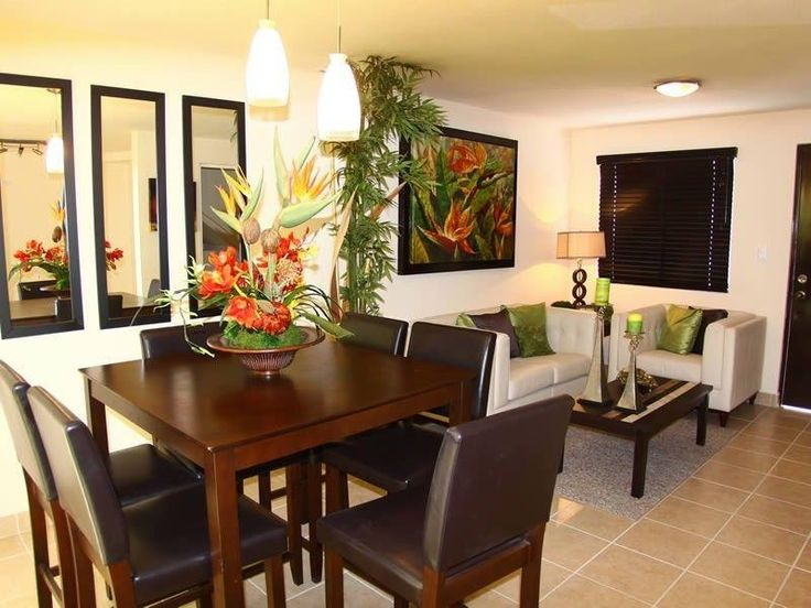 40 best sala comedor images on pinterest dining rooms for Decoracion sala comedor