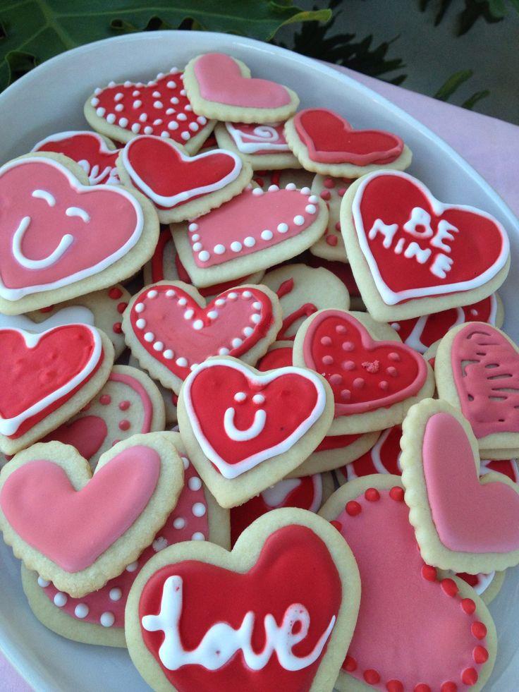 Valentine's Day sugar cookies | cookies | Pinterest