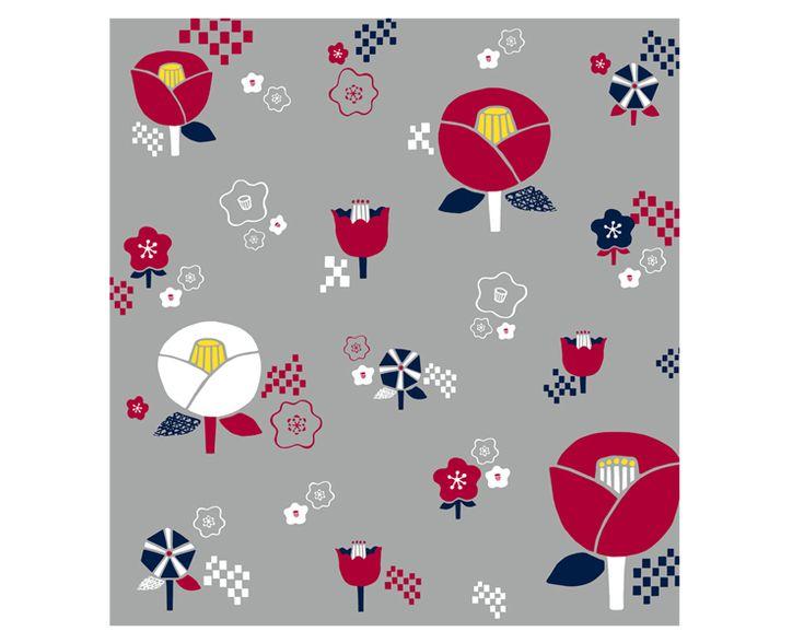 Camellia -Tsubaki- Red – eco wrapping with Furoshiki #Furoshiki #Fabric #Gift #Wrapping #Wrappingpaper #Japanese #Eco #Ecology #Environment #Creative #Wrap #Origami #Ideas #Textile #Art #Cloth #Cotton #Flower
