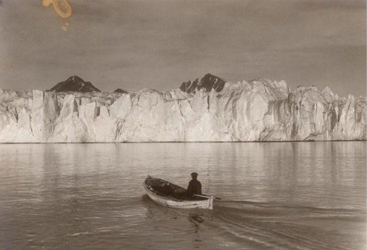 Шокирующие фотографии в стиле 'до и после' показывающие что изменение климата сделало с арктическими ледниками