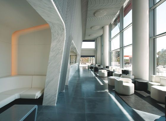Hotel Puerta America, Marmo Bar + 6th floor by Marc Newson | Hotel interiors