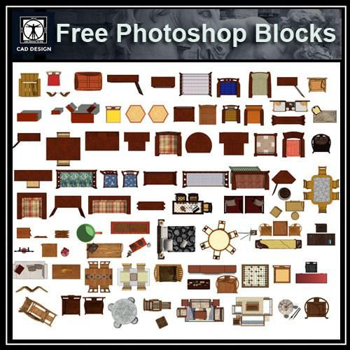 Free photoshop psd chinese furniture blocks 1 art for Arredi 3d dwg