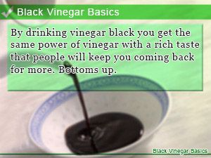 Black Vinegar Basics