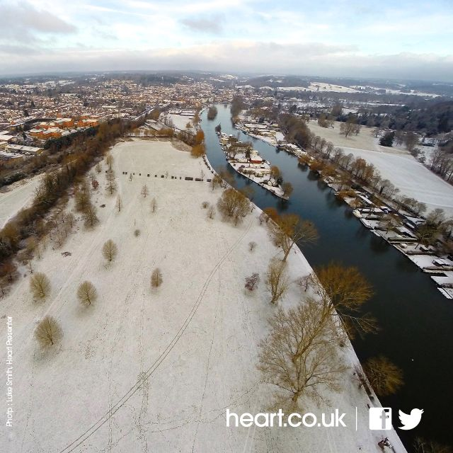 Henley in the snow Feb 2015