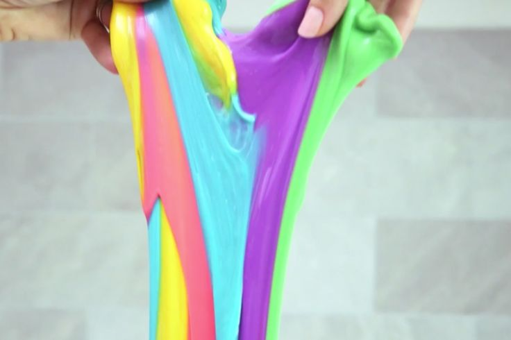Comment faire de la glue multicolore sans borax!