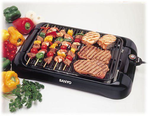 Sanyo Hps Sg3 200 Square Inch Indoor Electric Barbeque
