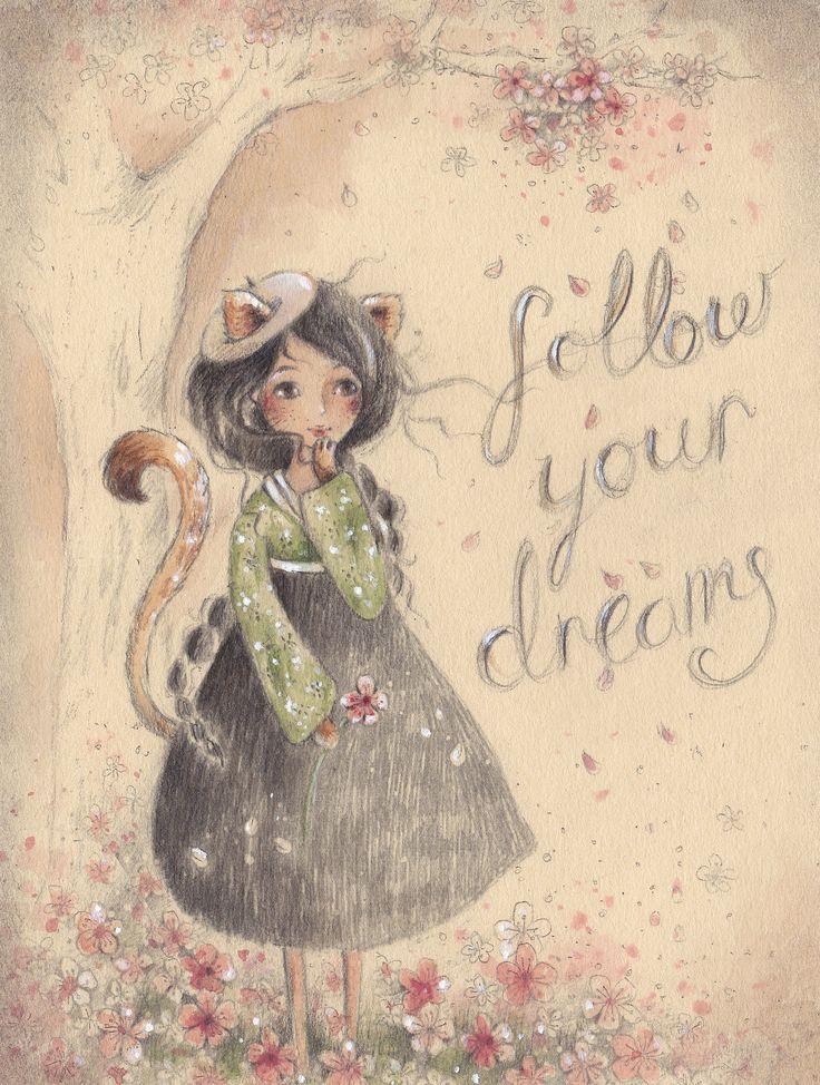 girl illustration alice wong
