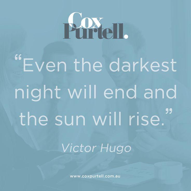 Victor Hugo Quote - Cox Purtell Recruitment