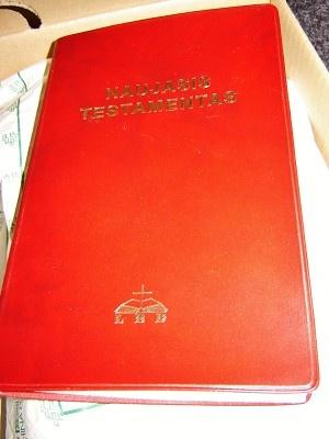 Lithuanian New Testament 2010 / Naujasis Testamentas / Is graiku kalbos verte Ceslovas Kavaliauskas