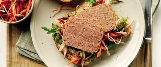 Princes Corned Beef and Beetroot Coleslaw Sandwich