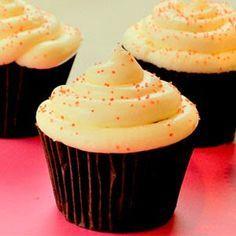 recetas de cupcakes: Cupcake de vainilla