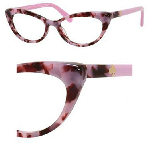 0081a77b38 Eyeglasses Kate Spade Analena 0W83 Pink Tortoise I want this shape of  glasses