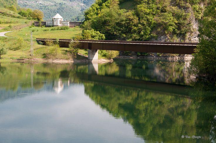 Il Lago Corlo ad Arsiè