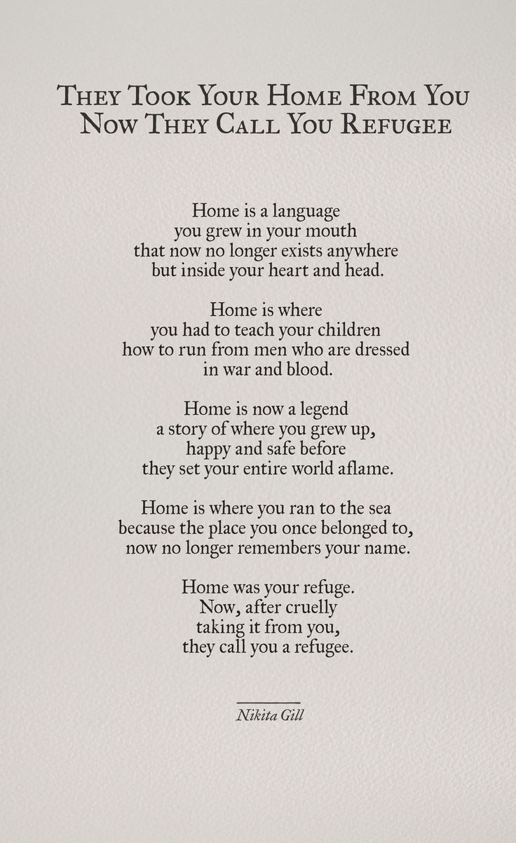 Home is a language you grew in your mouth