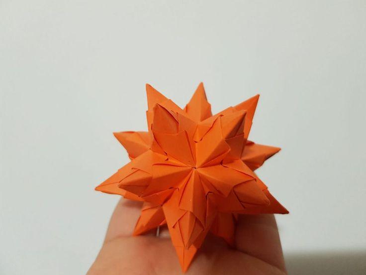 "Set globuri ""stelute origami"""